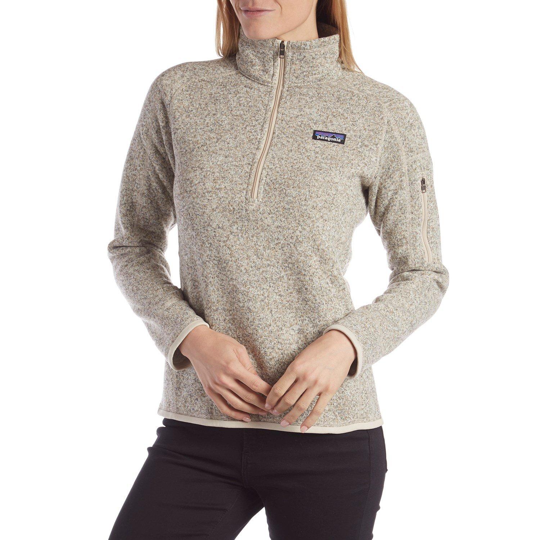 19403372e Patagonia Better Sweater® 1 4 Zip Pullover Fleece - Women s