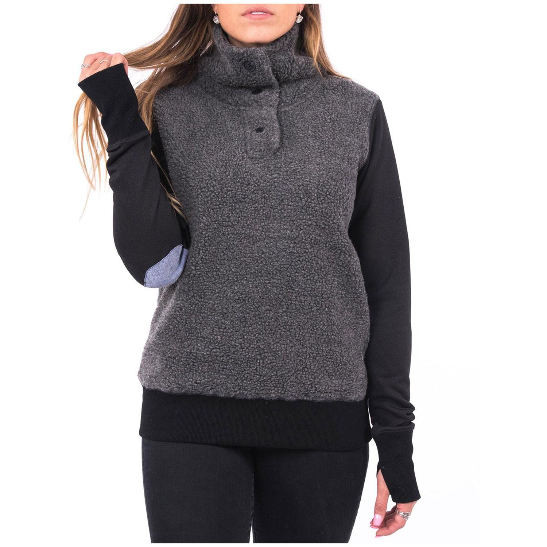 Holden Hybrid Sherpa Pullover Fleece - Women's | evo