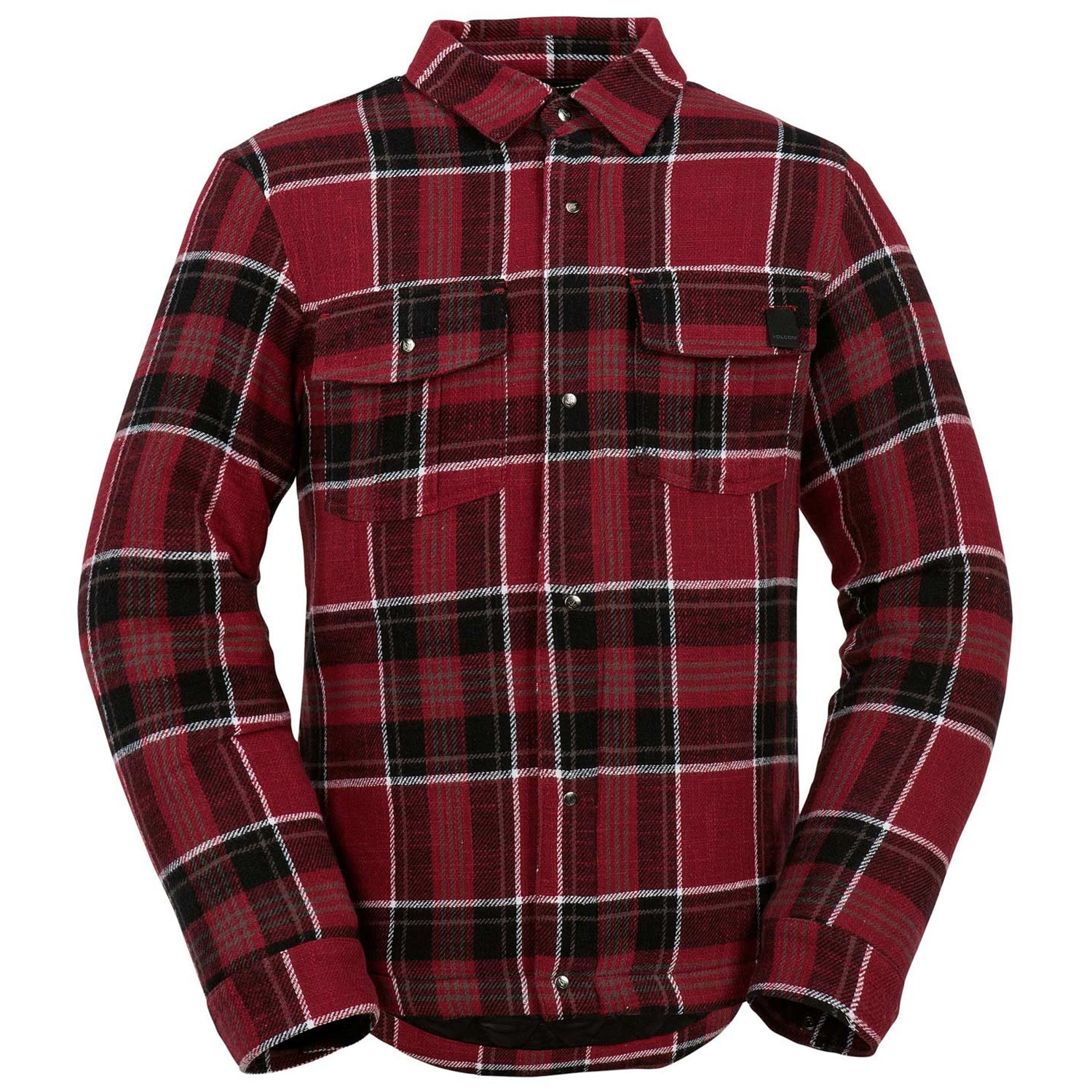 Boys volcom clothing size chart volcom bison insulated flannel boys geenschuldenfo Images