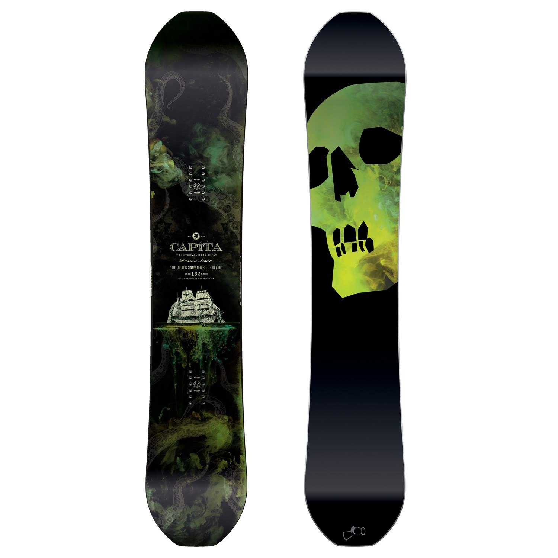 bd7806df62 CAPiTA The Black Snowboard of Death Snowboard 2017