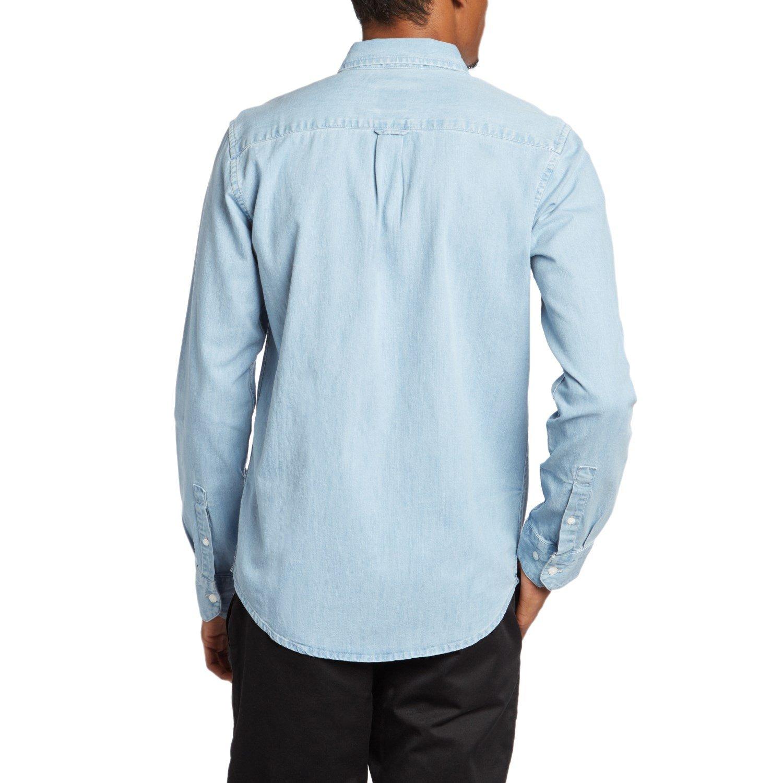 2943840bc82 RVCA Johnny Long-Sleeve Button Down Shirt
