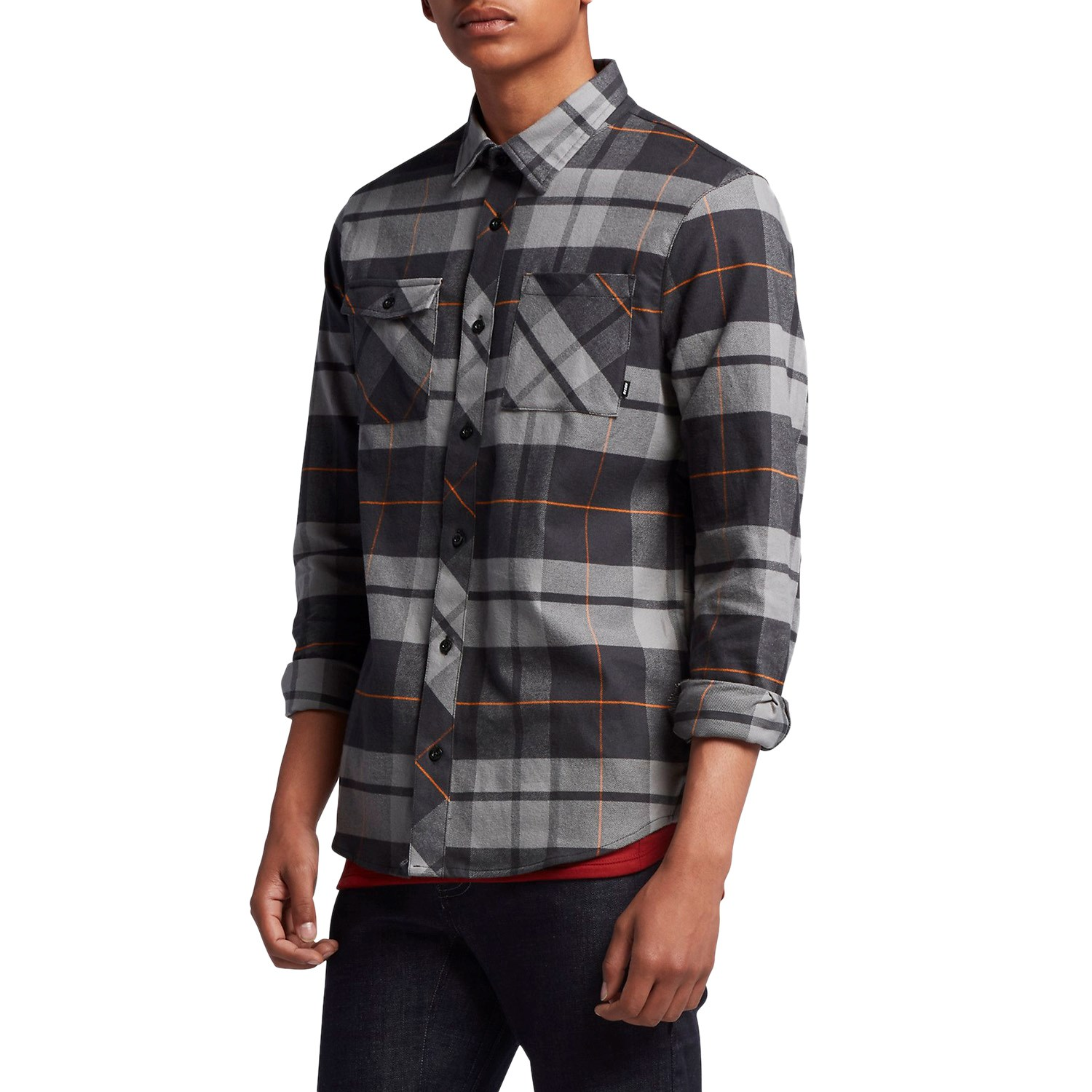 sports shoes official site competitive price Nike SB Plaid Woven Flannel Shirt | evo