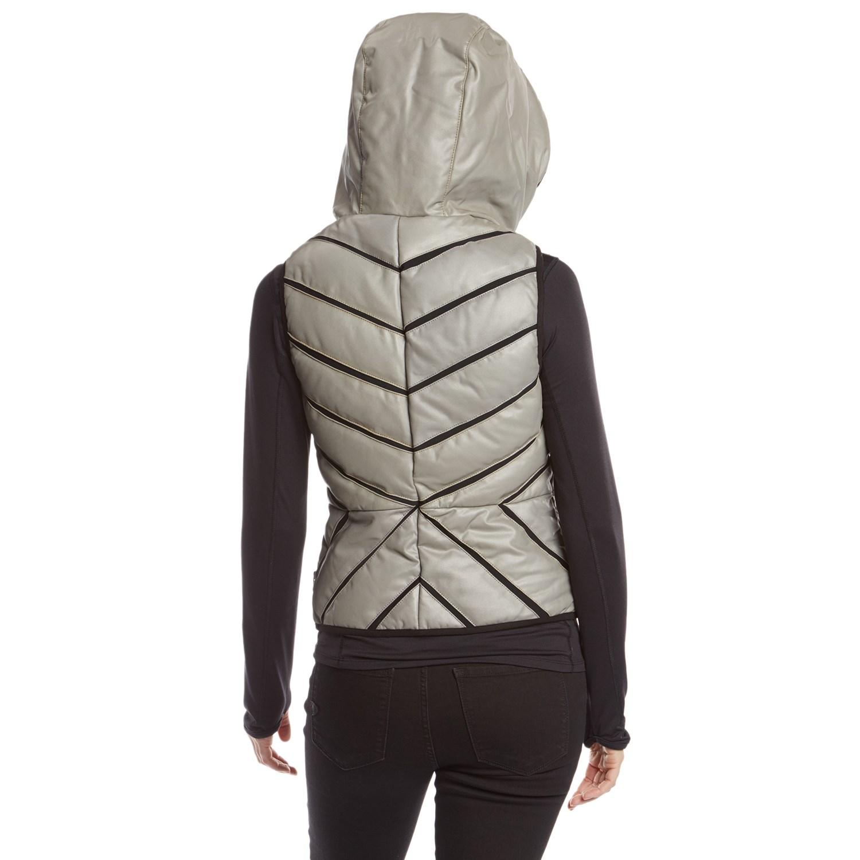 53e4ad6afae2 Blanc Noir Mesh Inset Reflective Puffer Vest - Women's | evo