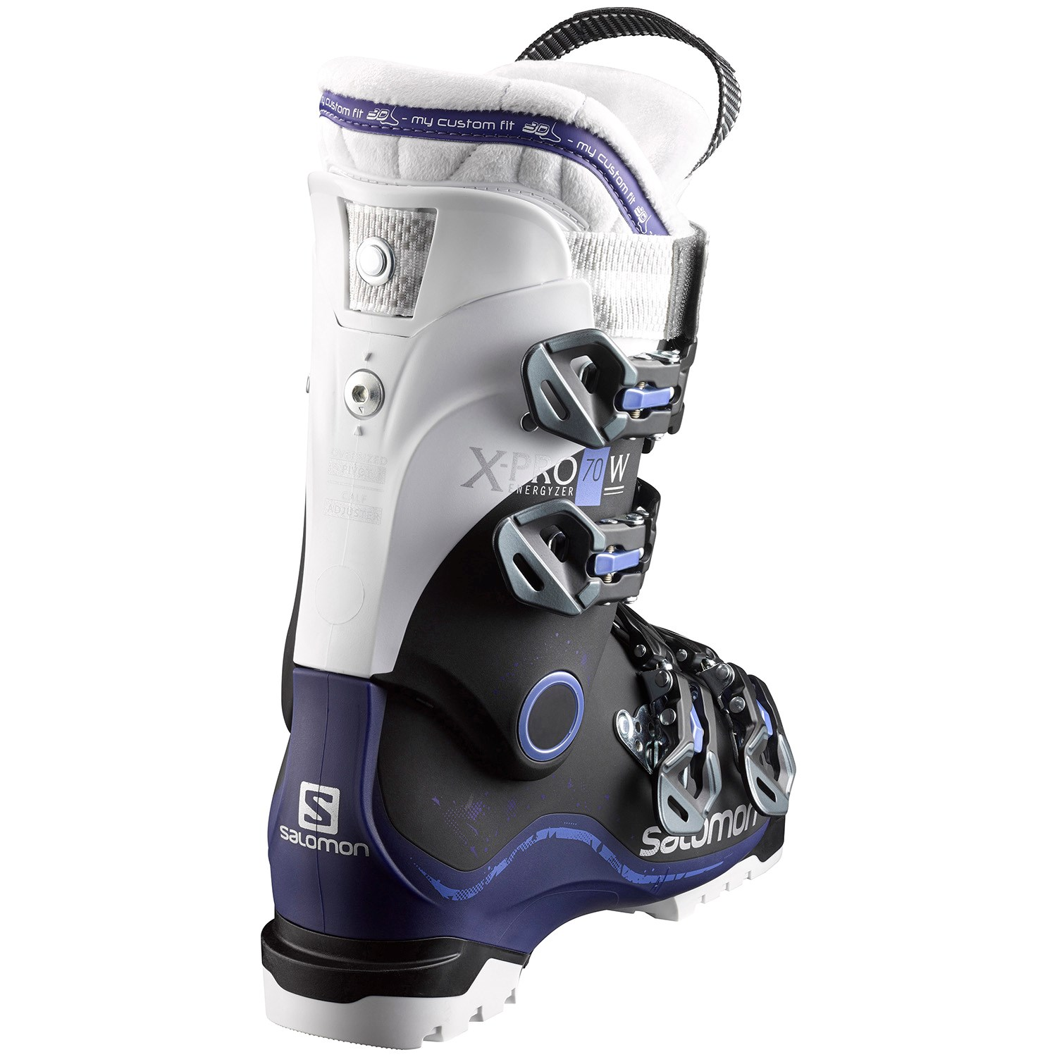 Salomon X Pro 70 Women - black/dark purple xJ4Ry