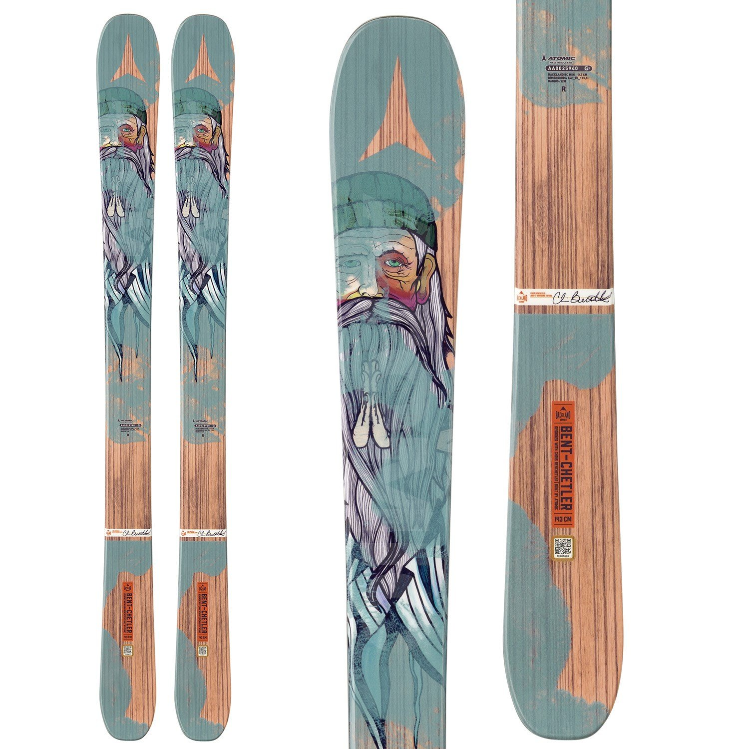 Kids Twin Tip Skis