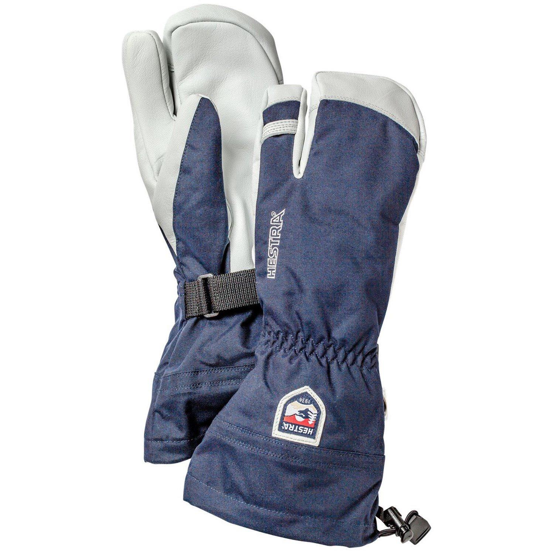 Mens ski gloves xxl - Hestra Army Leather Heli Ski 3 Finger Mittens 139 95