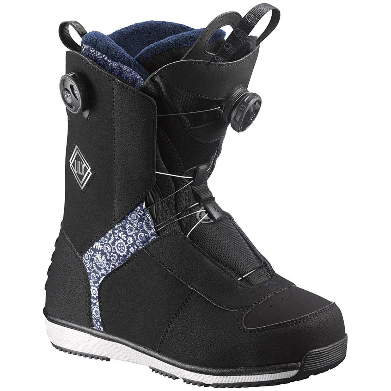 Schuhe Damen Salomon LILY FOCUS BOA SNOWBOARD BOOTS Damen