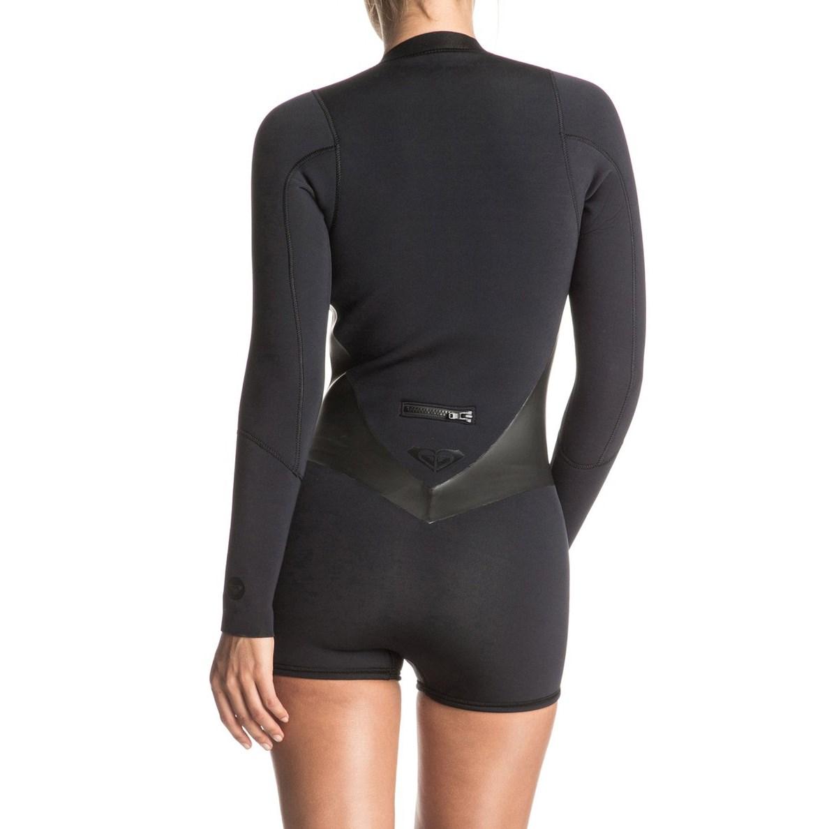 31f2ab72fe Roxy 2mm Pop Surf Front Zip Long Sleeve Springsuit - Women s