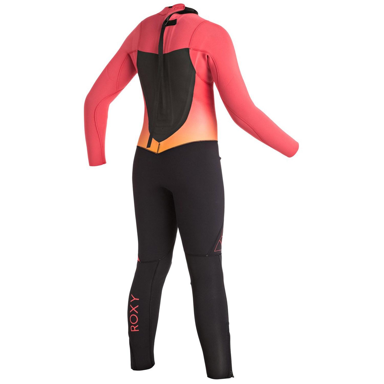 b0b61ac066 Roxy 4 3 Syncro Back Zip GBS Wetsuit - Girls