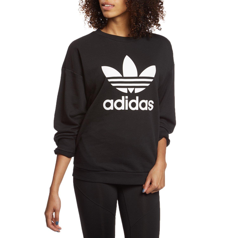 Adidas Adidas Originals Sweatshirt Adidas Trefoil Sweatshirt Originals Trefoil Originals Women'sEvo Trefoil Women'sEvo iOPXZku
