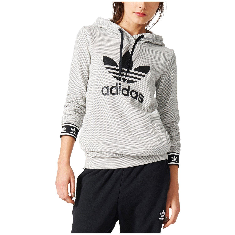Buy adidas sweatshirt womens Grey   OFF72% Discounted e35447fe6a
