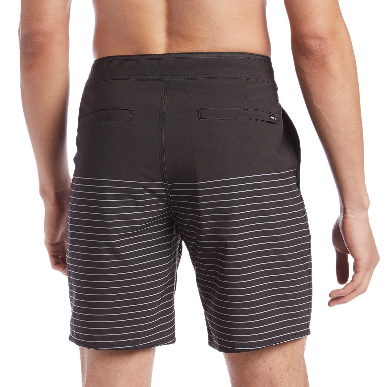 "RVCA /""Curren Caples/"" Boardshorts Men/'s 18/"" Swim Wear Trunk Shorts Black"