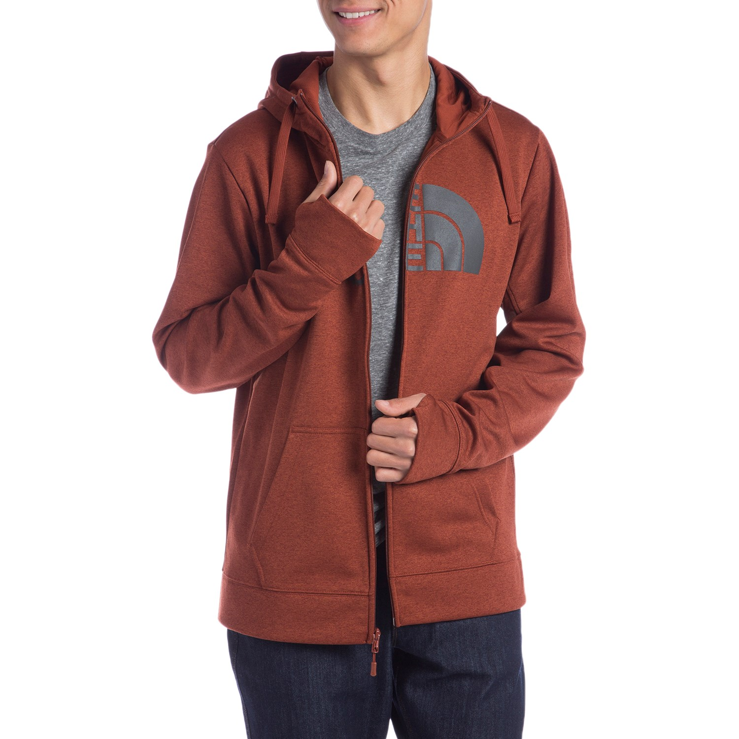 310a02d85 The North Face Surgent Half Dome Full Zip Hoodie