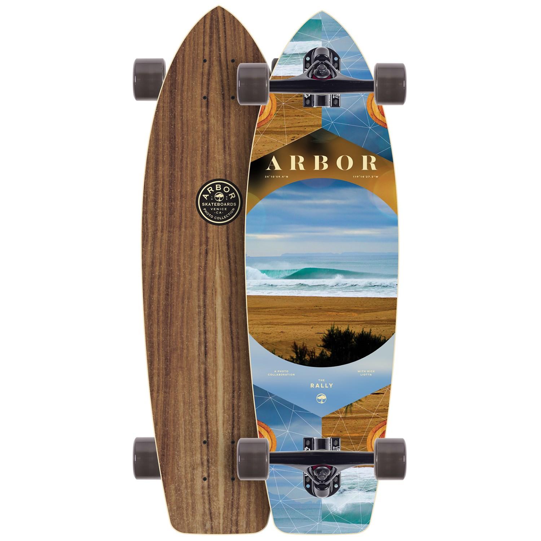 Arbor Rally Photo Longboard Complete | evo