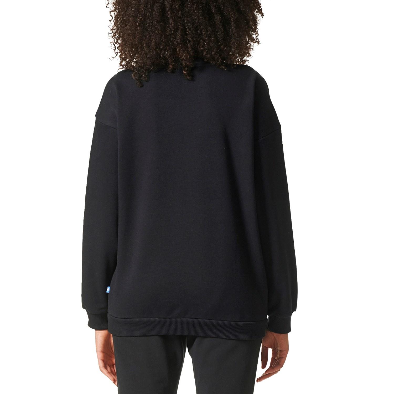66fb359d3e78 Adidas Originals Trefoil Crewneck Sweatshirt - Women s