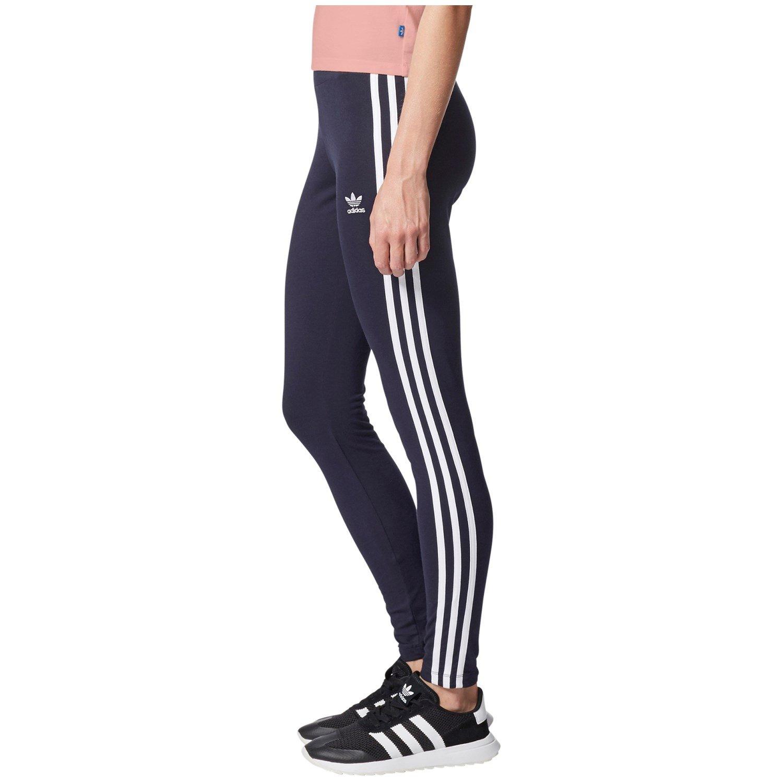 adidas Originals 3 Stripes Leggings Damen Lila | Lifestyle
