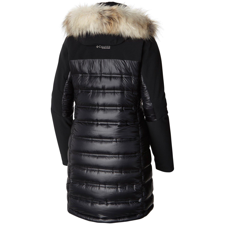 Columbia Titanium Heatzone 1000 Turbodown™ Long Hooded Jacket Women's