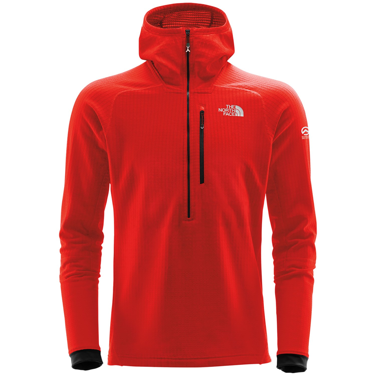 6f58fa5a6 The North Face Summit L2 Fuseform™ Grid Fleece 1/4 Zip Hoodie