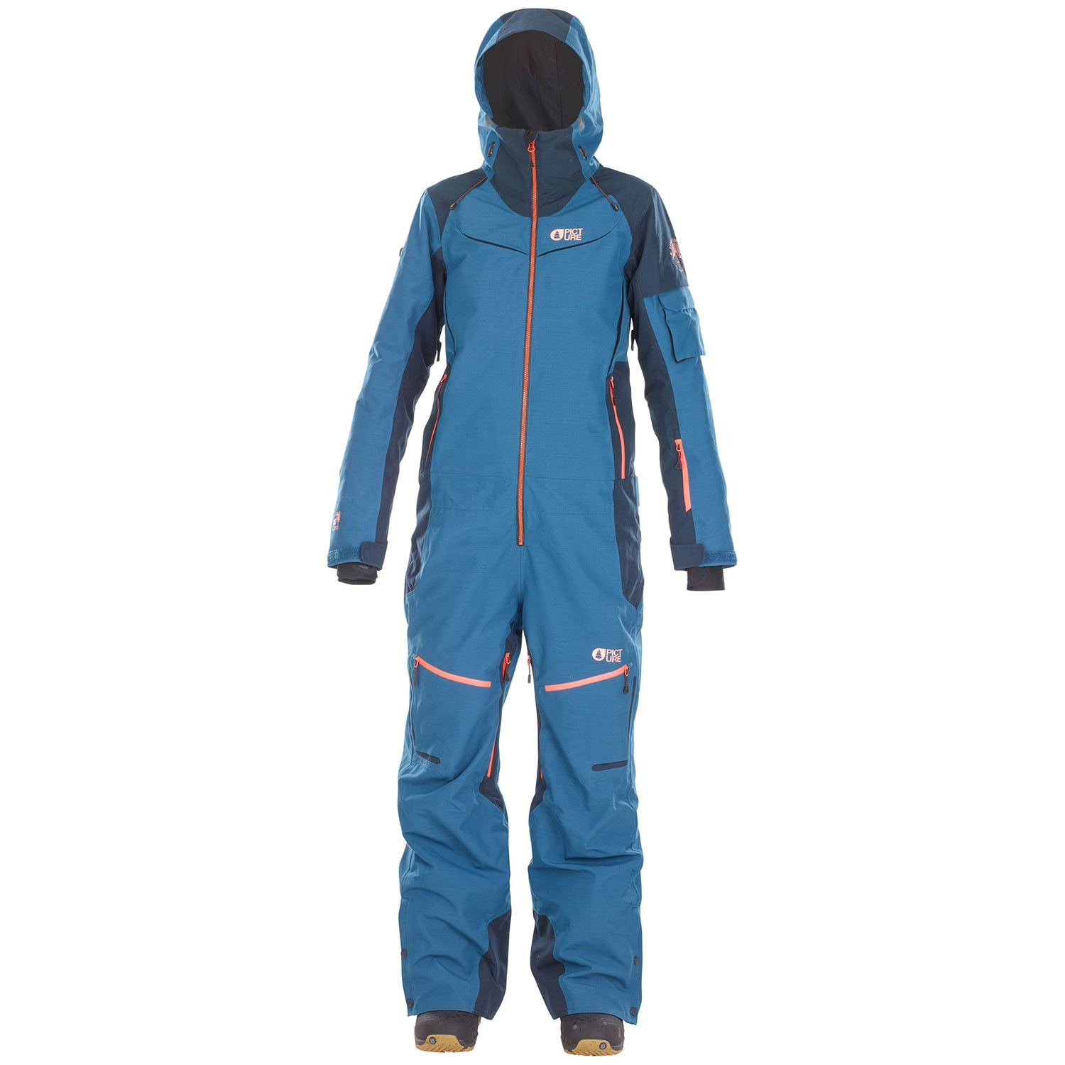 Womens Snow Suit One Piece >> Picture Organic Xena One Piece Suit Women S Evo