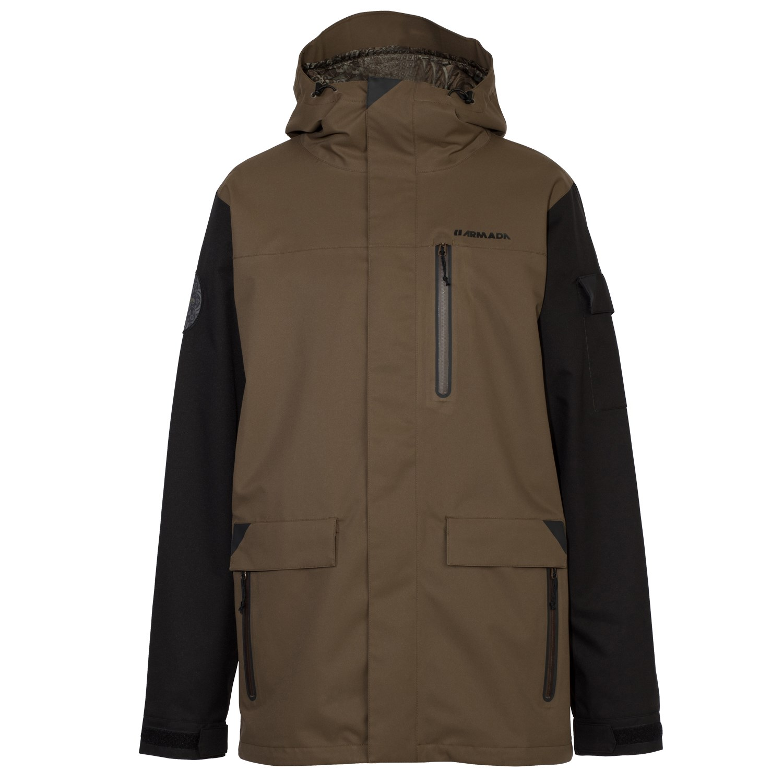 Mens anorak ski jacket
