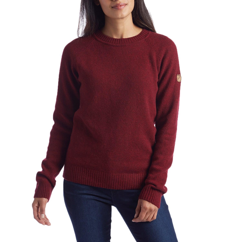 Fjällräven Övik Re-Wool Sweater - Women's | evo