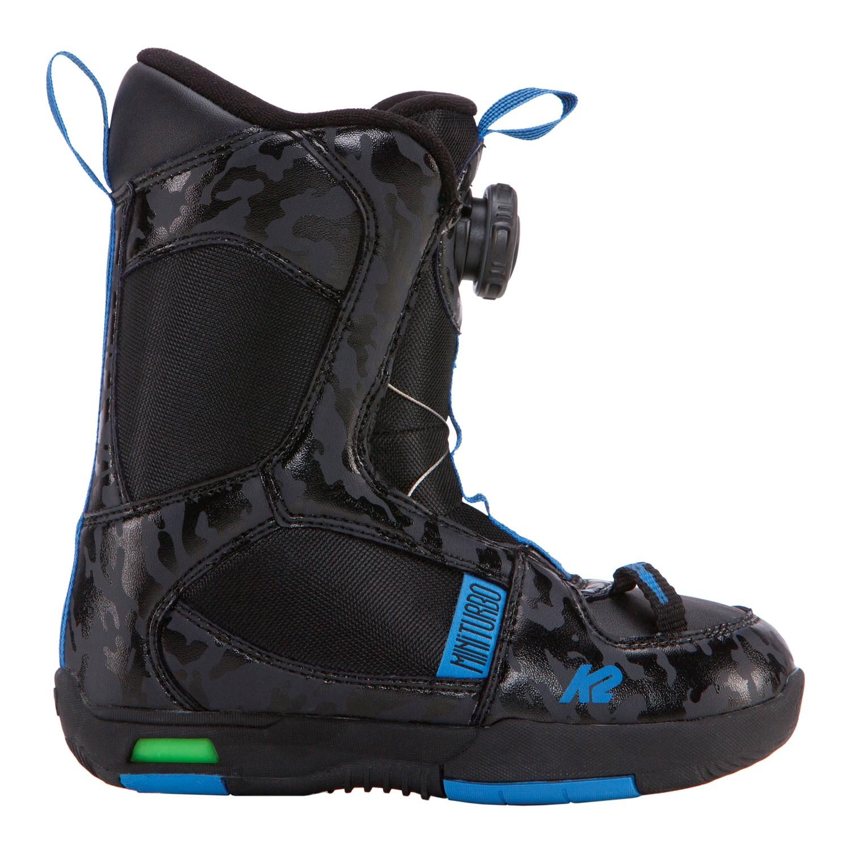 2019 K2 Mini Turbo JR Black Snowboard Boots