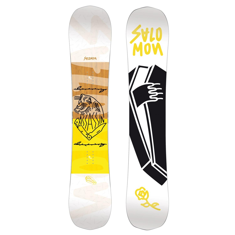 d86fc0f178f2 Salomon Assassin Snowboard 2018