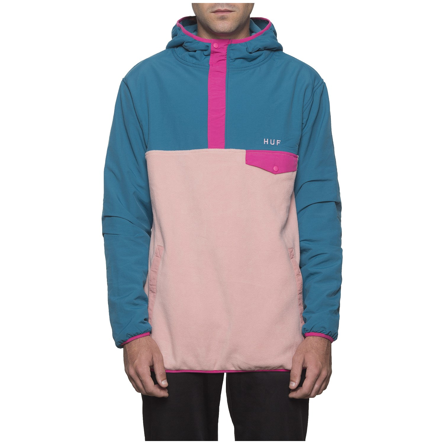 HUF Muir Hooded Pullover Jacket | evo
