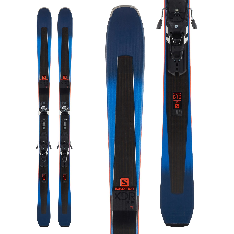 SALOMON RC-8 Extra Stiff XC Skis Mens Sz 206cm