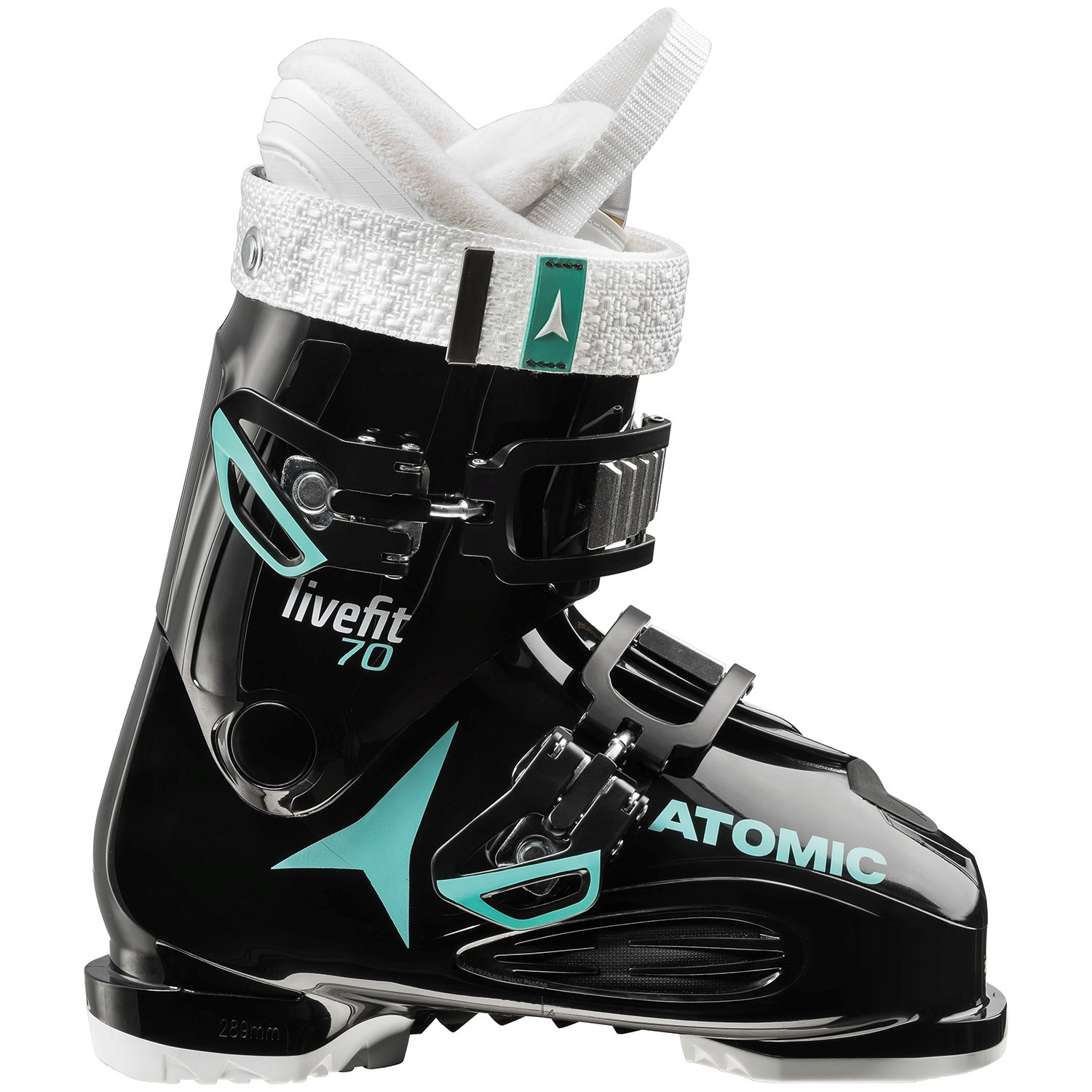 Atomic Live Fit 100 Transparent Green-Black - 2017 - 25.5 xKbIgPsRiz