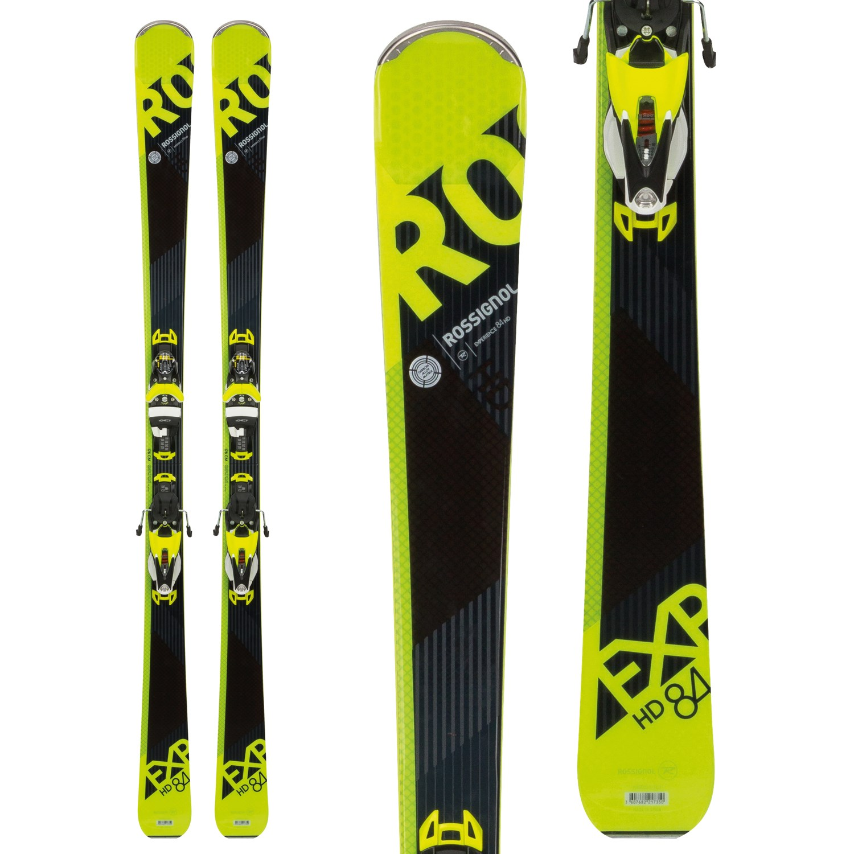 Rossignol Experience 84 HD Skis + SPX 12 Konect Dual WTR Bindings 2018  fe8e9d5186d8