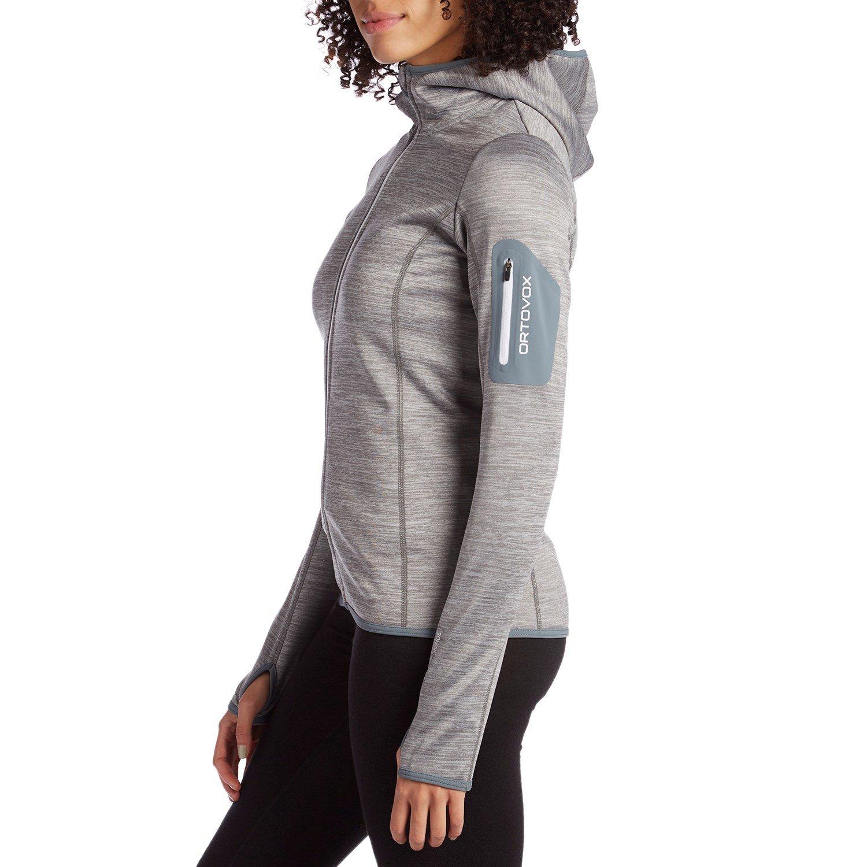 Melange Damen Hoody Digital Bekleidung Make Ortovox Fleece Fc1JlKT