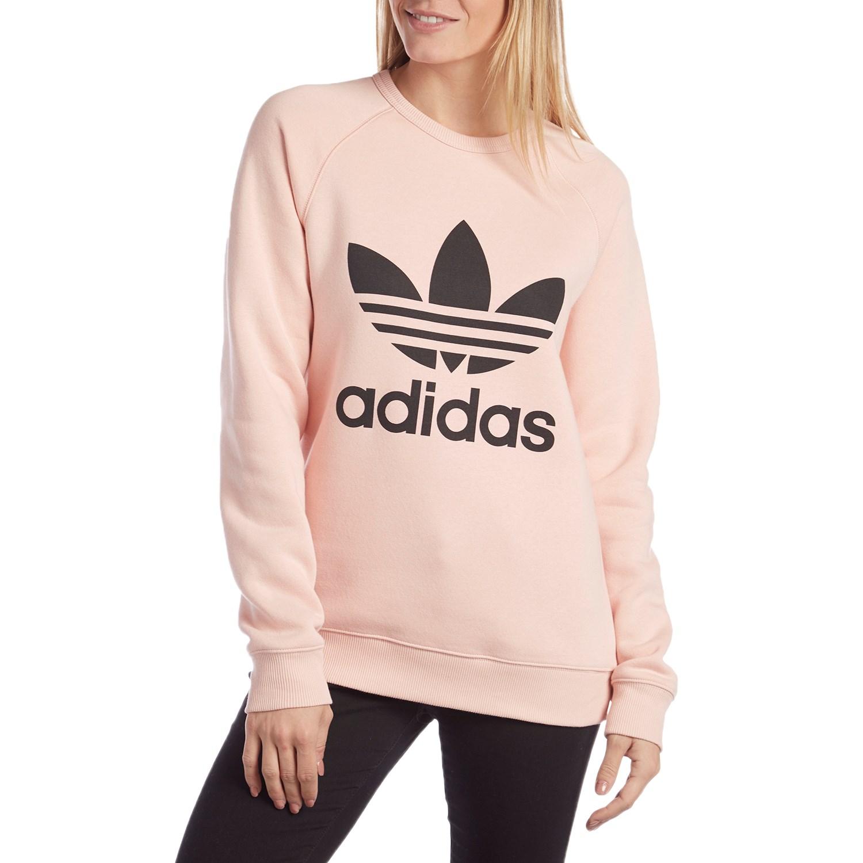 Adidas Originals Trefoil Crewneck Sweatshirt - Women's | evo