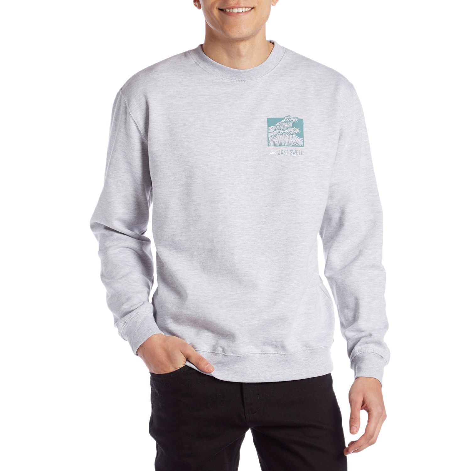 Imperial Motion Just Swell Crew Neck Sweatshirt $49.95 $31.99 LimitedTime