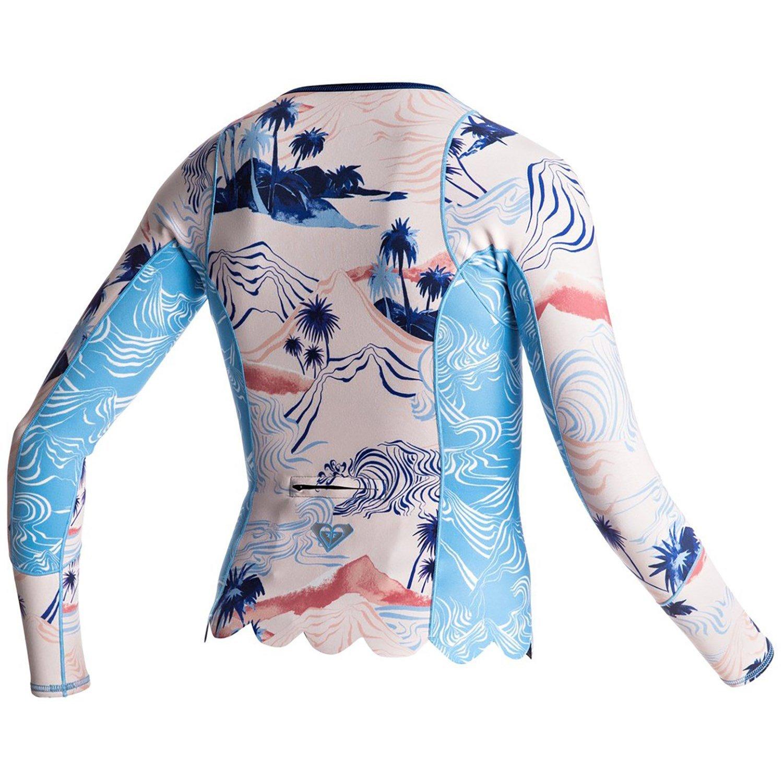 Roxy 1mm Pop Surf Long Sleeve Front Zip Scallop Wetsuit Jacket - Women s  07719b1b0