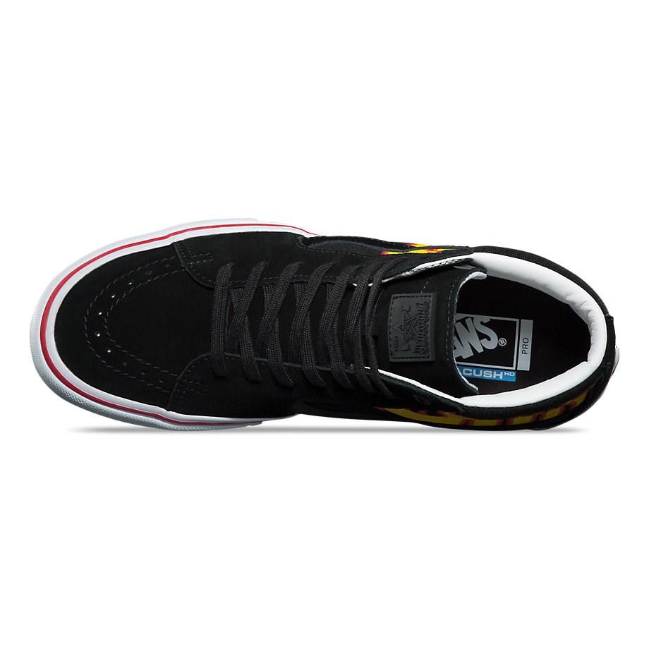 a1eeb8957f1501 Vans x Thrasher Sk8-Hi Pro Shoes