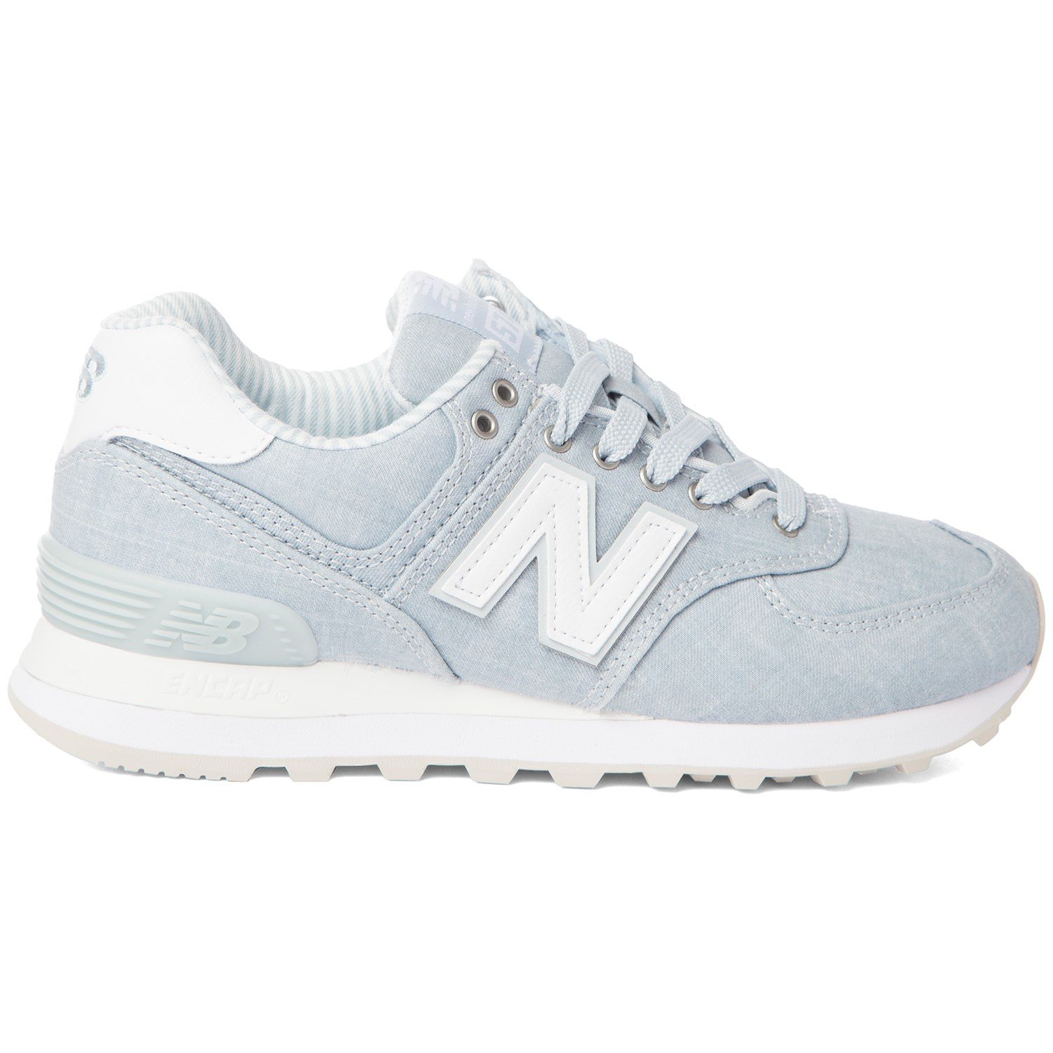 new arrival 9131d 1dfa9 New Balance 574 Beach Chambray Shoes - Women's | evo