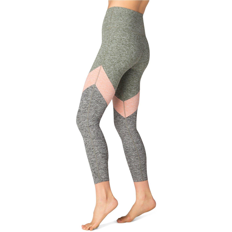 6a3f267076 Beyond Yoga Spacedye Tri-Panel High Waisted Midi Leggings - Women's | evo