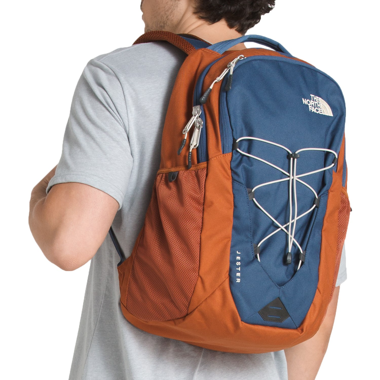 d060746d7 North Face Jester Backpack Orange - CEAGESP