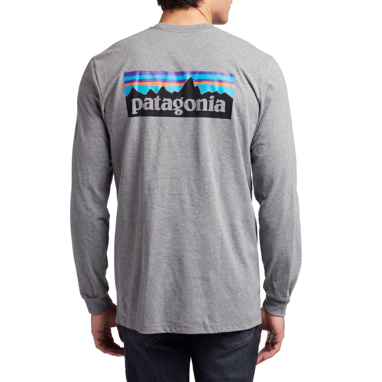 a98790c311fc Patagonia P-6 Logo Responsibili-Tee® Long-Sleeve Long-Sleeve T-Shirt | evo