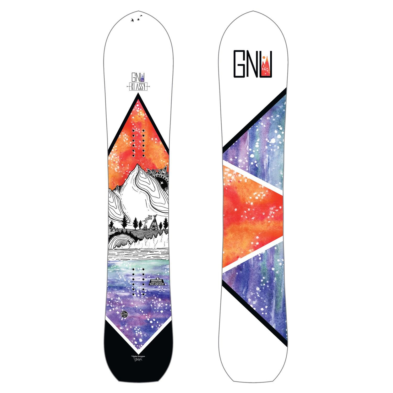 2020 GNU Klassy C2X Womens Snowboard