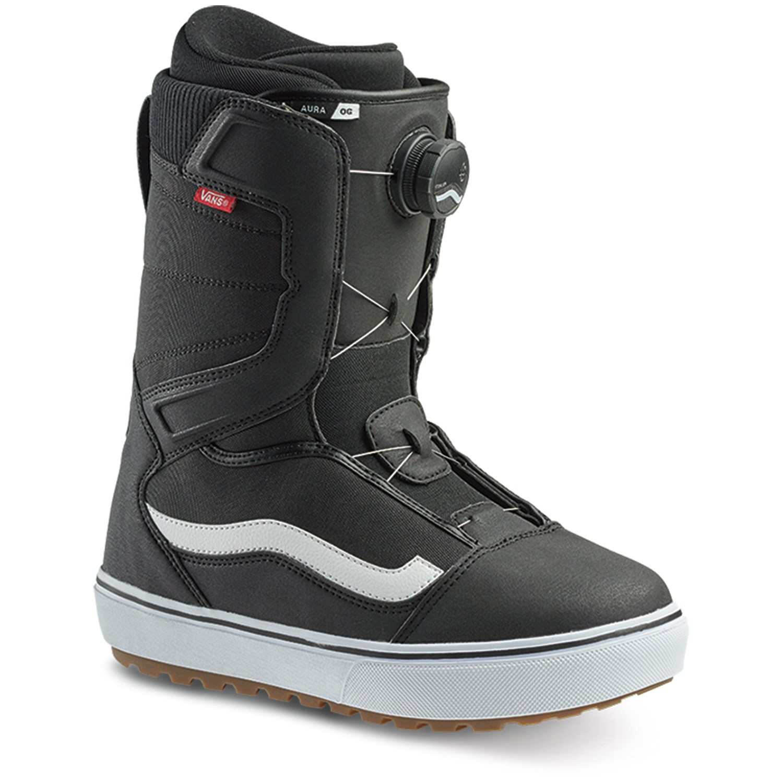 vans snowboard boots size chart