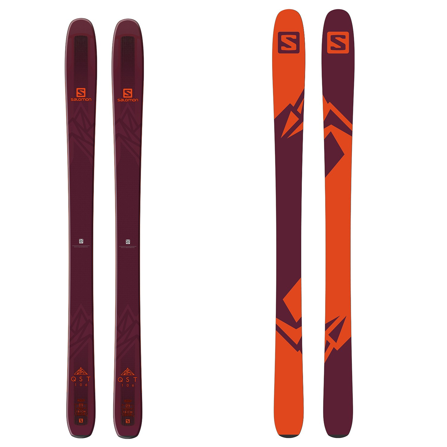 Salomon QST 106 Skis 2019 | evo