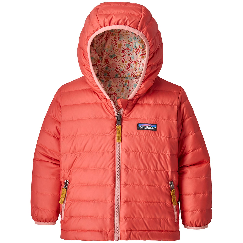 Patagonia Reversible Down Sweater Hoodie Toddler Girls Evo