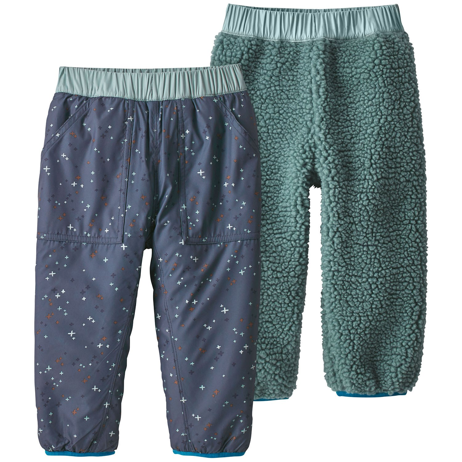 on feet images of big discount pre order Patagonia Reversible Tribbles Pants - Toddler Boys' | evo