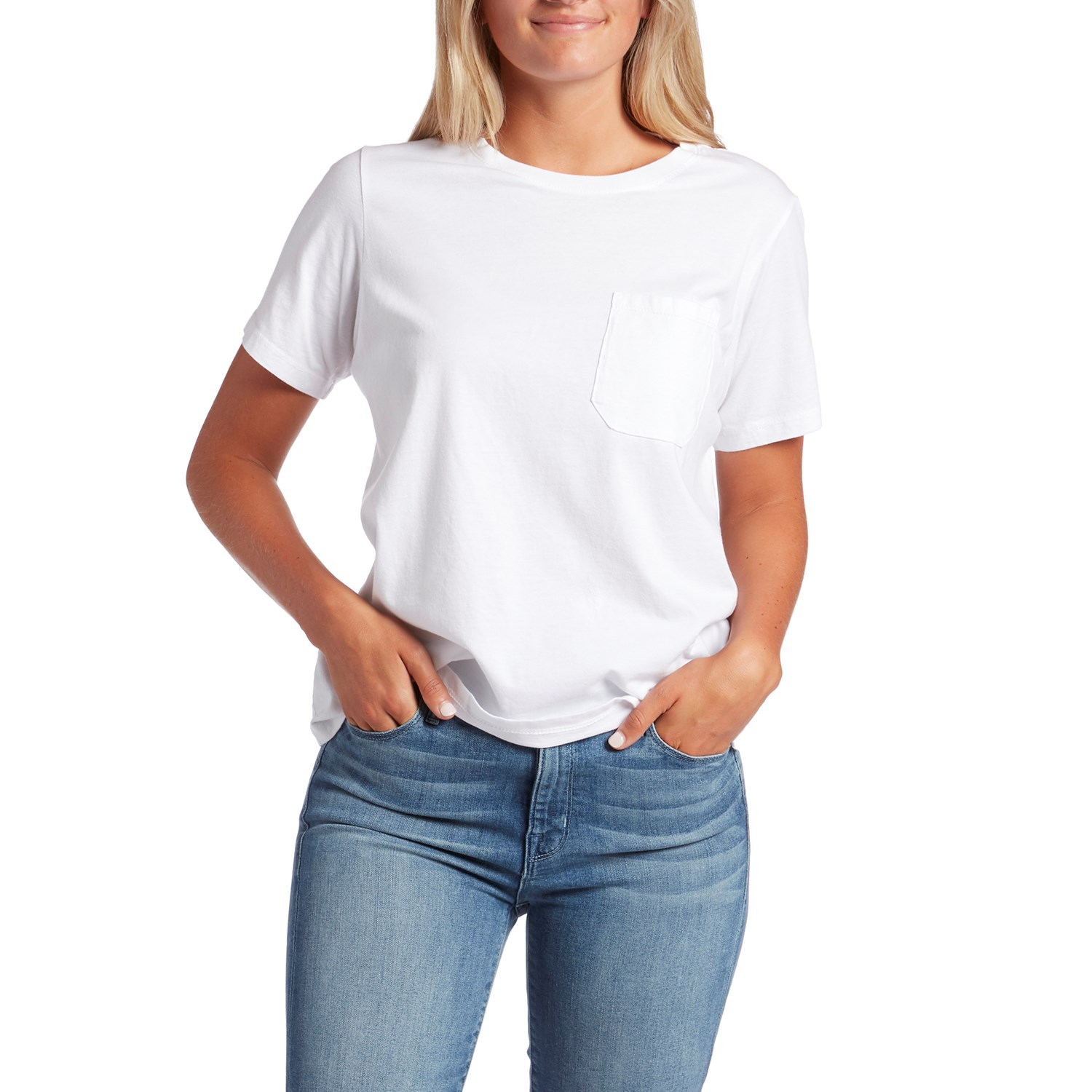 womens white shirt with pocket