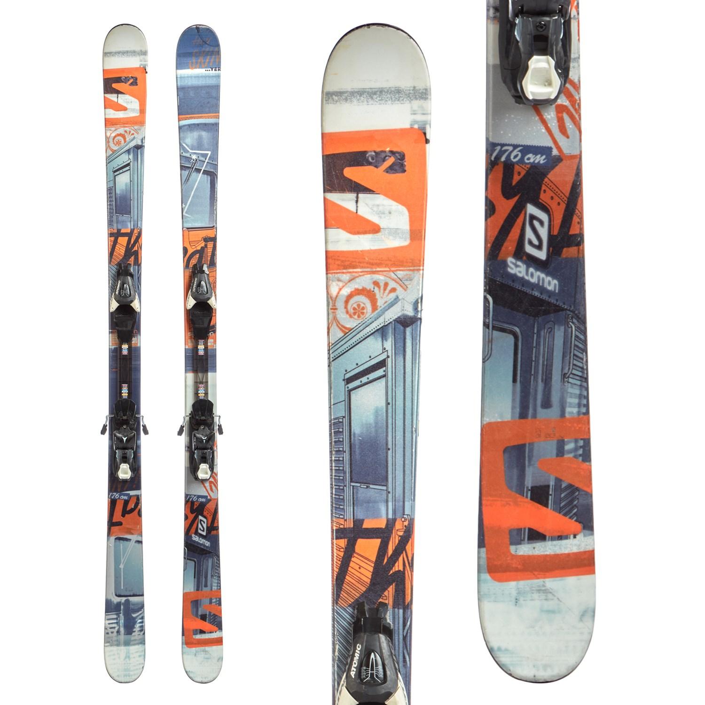 Salomon Threat Skis 2014