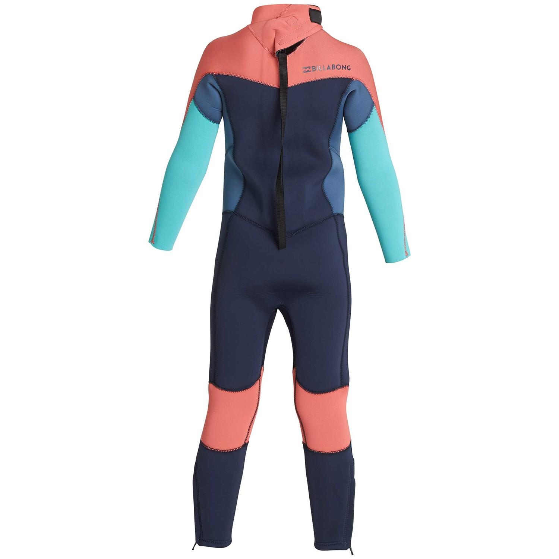 84300e2013 Billabong 3 2 Furnace Synergy Back Zip Wetsuit - Little Girls