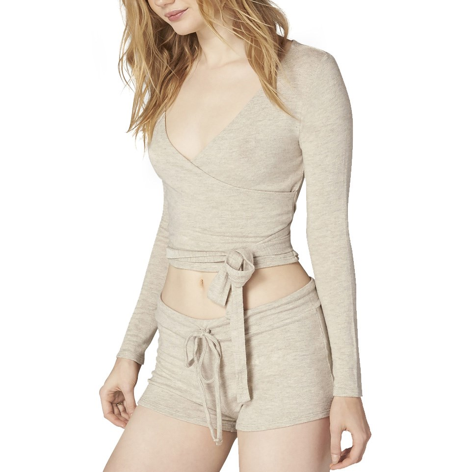 8a6ec406837e08 Beyond Yoga All Around Wrapped Cropped Top - Women s