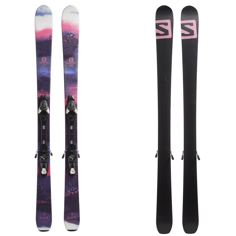 Salomon Lux 92 Skis + Atomic XTE 10 Bindings Women's 2018